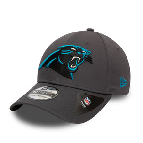 Carolina Panthers NFL Team Grey 39THIRTY Stretch Fit Cap