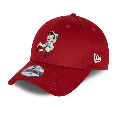 Pinocchio Disney Kids Red 9FORTY Cap