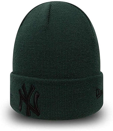 New Era MLB New York Yankees League Essential Forest Green Cuff Knit