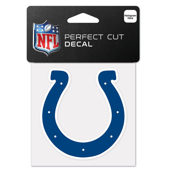 "Indianapolis Colts WinCraft 4"" x 4"" Logo Perfect Cut Decal"