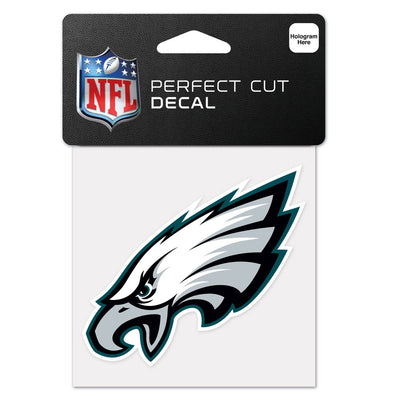 "Philadelphia Eagles WinCraft 4"" x 4"" Team Perfect Cut Decal"