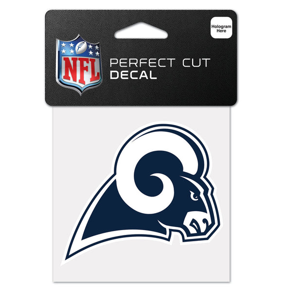 "Los Angeles Rams WinCraft 4"" x 4"" Logo Perfect Cut Decal"