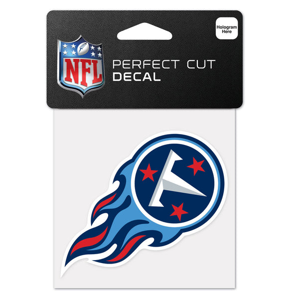 "Tennessee Titans WinCraft 4"" x 4"" Team Perfect Cut Decal"