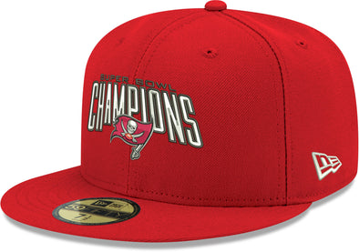 Tampa Bay Buccaneers Super Bowl LV Champions 59FIFTY Fitted Cap