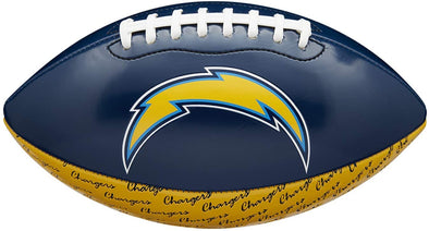 Mini NFL Team Peewee Football Los Angeles Chargers