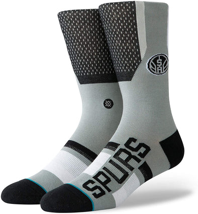 Stance Basketball NBA San Antonio Spurs Shortcut Socks