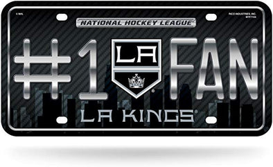 Rico NHL #1 Fan Metal Auto Tag Los Angeles Kings