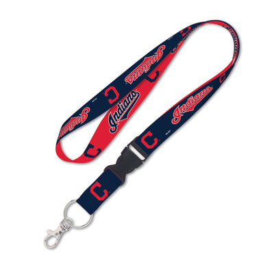 "Cleveland Indians 1"" MLB Lanyard w/ Detachable Buckle"