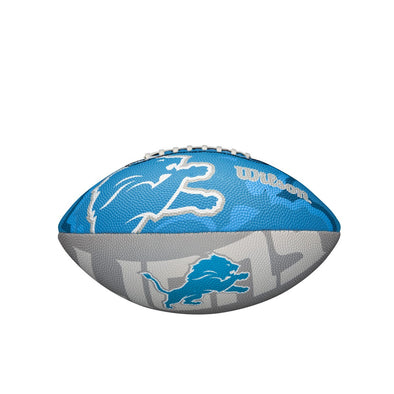 Wilson NFL Team Logo Junior Size Football Detroit Lions