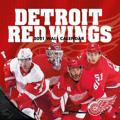 Detroit Red Wings NHL Wall Calendar 2021