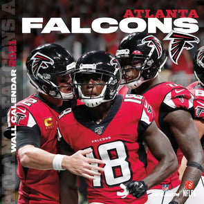 Atlanta Falcons NFL Wall Calendar 2021