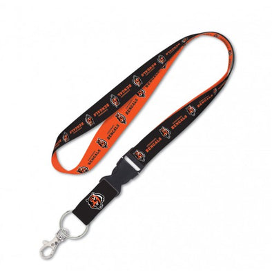 "Cincinnati Bengals 1"" NFL Lanyard w/ Detachable Buckle"
