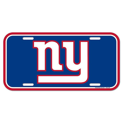 NFL New York Giants Licence Plate