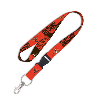 "Cleveland Browns 1"" NFL Lanyard w/ Detachable Buckle"