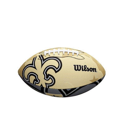 Wilson NFL Team Logo Junior Size Football New Orleans Saints