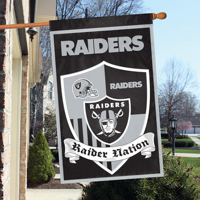Las Vegas Raiders NFL Shield Banner