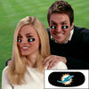 Miami Dolphins Eye Black Strips