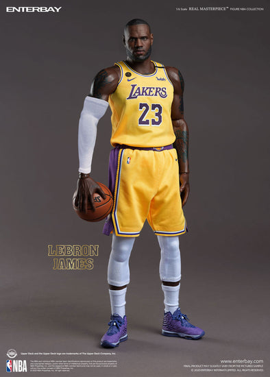 NBA Collection Real Masterpiece Action Figure 1/6 LeBron James Los Angeles Lakers 30 cm