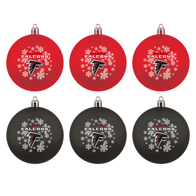 Atlanta Falcons NFL Christmas Ornament Gift Set (6-Piece)