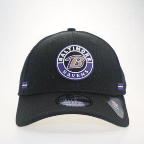 NFL 2020 Sideline Road Alternate Baltimore Ravens 39THIRTY Stretch Fit Cap