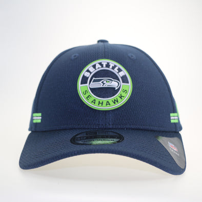 NFL 2020 Sideline Road Alternate Seattle Seahawks 39THIRTY Stretch Fit Cap
