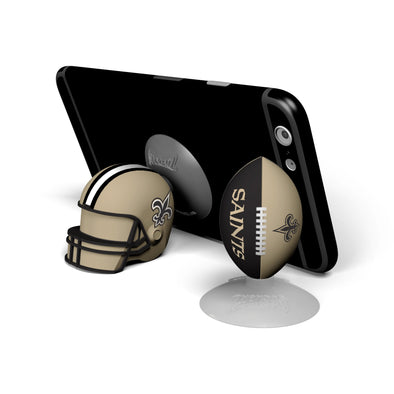 New Orleans Saints 2-Pack Football & Helmet Suckerz