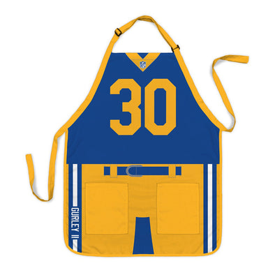 Todd Gurley #30 Los Angeles Rams NFL Player Apron