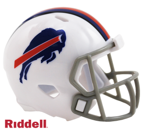 Buffalo Bills Riddell NFL Speed Pocket Pro Helmet