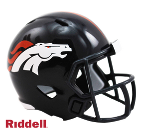 Denver Broncos Riddell NFL Speed Pocket Pro Helmet