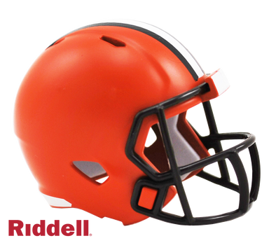 Cleveland Browns Riddell NFL Speed Pocket Pro Helmet