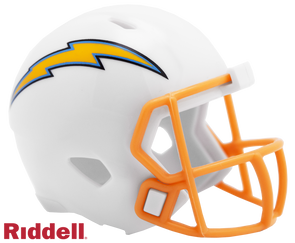 Los Angeles Chargers 2019 Riddell NFL Speed Pocket Pro Helmet