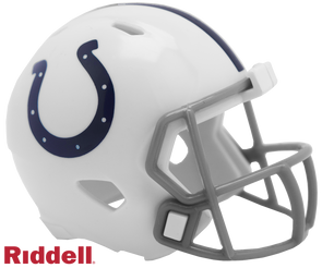 Indianapolis Colts Riddell NFL Speed Pocket Pro Helmet