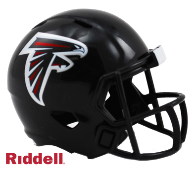 Atlanta Falcons Riddell NFL Speed Pocket Pro Helmet