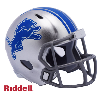Detroit Lions Riddell NFL Speed Pocket Pro Helmet