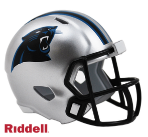 Carolina Panthers Riddell NFL Speed Pocket Pro Helmet