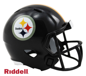 Pittsburgh Steelers Riddell NFL Speed Pocket Pro Helmet
