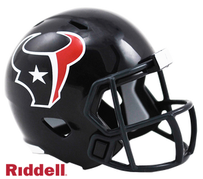 Houston Texans Riddell NFL Speed Pocket Pro Helmet