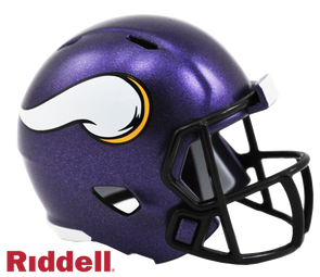 Minnesota Vikings Riddell NFL Speed Pocket Pro Helmet