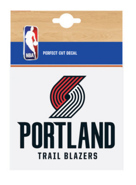 Portland Trail Blazers Fanatics Branded Car Decal