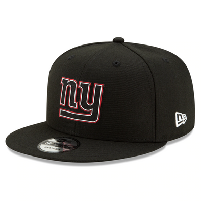 NFL 2020 New York Giants Black Draft 9FIFTY Snapback