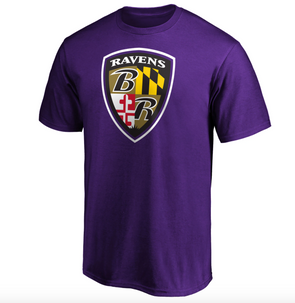 Fanatics Baltimore Ravens Iconic Hometown Graphic T-Shirt