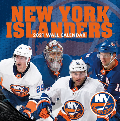 New York Islanders NHL Wall Calendar 2021