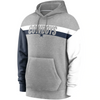 Men's Dallas Cowboys Nike Grey Heritage Tri-Blend Pullover Hoodie