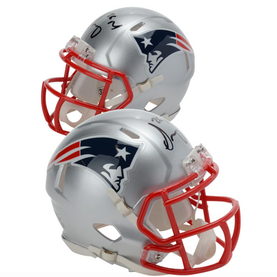 Sony Michel New England Patriots Autographed Riddell Speed Mini Helmet