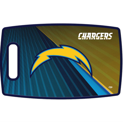 Los Angeles Chargers NFL Cutting Board