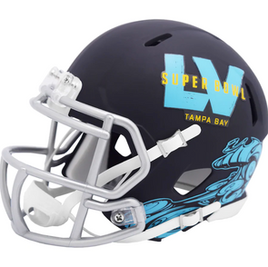 Super Bowl LV Riddell Speed Mini Helmet