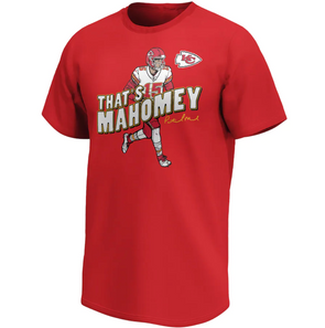 Kansas City Chiefs Fanatics Branded Patrick Mahomes That's Mahomey T-Shirt