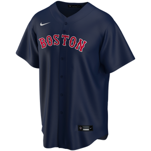 Men's Boston Red Sox Nike Navy Alternate Replica Team Jersey