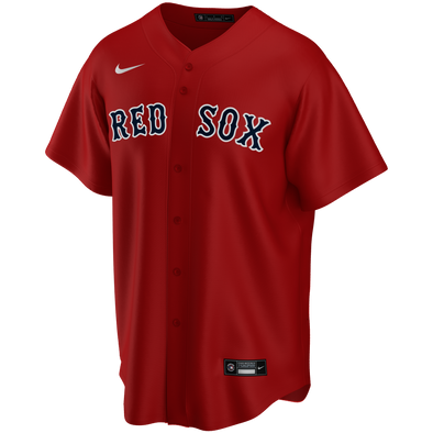 Men's Boston Red Sox Nike Red Alternate Replica Team Jersey