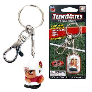 TeenyMate Arizona Cardinals Tagalong Keychain